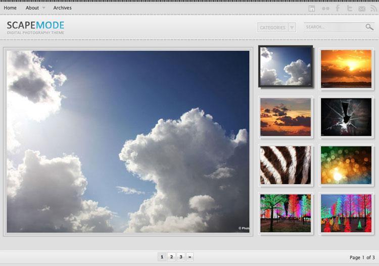 Blog Index Style 01: [4:3] Big thumbnail size 640x480 , mini thumbnails at right
